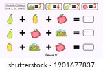 this is a kids learning game...   Shutterstock .eps vector #1901677837