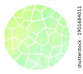 spring  eco  vegan round mosaic ... | Shutterstock . vector #1901684011