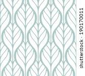seamless pattern. modern... | Shutterstock .eps vector #190170011