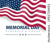 memorial day of hero  veteran... | Shutterstock .eps vector #1901724451