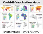 covid 19 vaccine infographic.... | Shutterstock .eps vector #1901730997