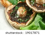 Large Field Mushrooms With...