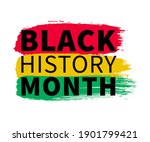 black history month celebrate....   Shutterstock .eps vector #1901799421