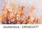 abstract oil painting of...   Shutterstock . vector #1901821477