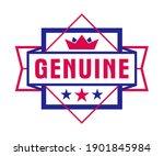 vector premium exclusive label... | Shutterstock .eps vector #1901845984