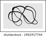 trendy abstract aesthetic... | Shutterstock .eps vector #1901917744
