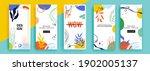 trendy editable template for... | Shutterstock .eps vector #1902005137