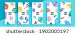 trendy editable template for...   Shutterstock .eps vector #1902005197