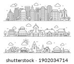 line city  town and village.... | Shutterstock .eps vector #1902034714