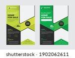 real estate home for sale flyer ...   Shutterstock .eps vector #1902062611