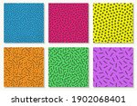 collection of colorful vibrant... | Shutterstock .eps vector #1902068401