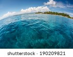 Tropical Island And Calm...