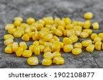A Heap Of Boiled Sweet Corn On...