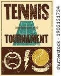 tennis tournament typographical ...   Shutterstock .eps vector #1902131734
