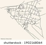 black simple detailed street...   Shutterstock .eps vector #1902168064