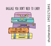 """Drawing Of """"baggage You Don't..."""