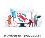computer repair desktop pc... | Shutterstock .eps vector #1902221164
