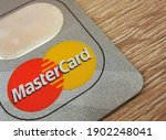 A Macro Closeup Of A Mastercard ...