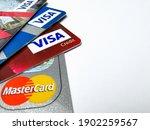 Choice Of Visa And Mastercard...