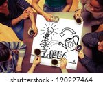composite image of idea and...   Shutterstock . vector #190227464