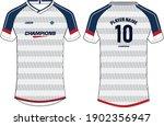 sports jersey t shirt design... | Shutterstock .eps vector #1902356947