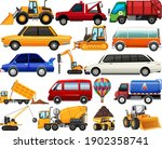 set of different kind of cars... | Shutterstock .eps vector #1902358741
