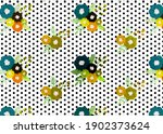 abstract oil painted floral... | Shutterstock . vector #1902373624