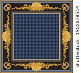 bandana print on a black and... | Shutterstock .eps vector #1902378514