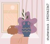 still life abstract contemorary ... | Shutterstock .eps vector #1902462367
