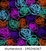 elegance seamless pattern with... | Shutterstock . vector #190246367