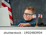 back to school. cute and happy...   Shutterstock . vector #1902483904