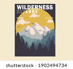 mountain illustration  outdoor ... | Shutterstock .eps vector #1902494734
