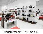 bright and fashionable interior ... | Shutterstock . vector #190255547