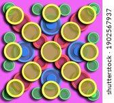 A Multicolor Tile Design With...