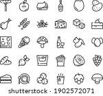 food line icon set   cherry... | Shutterstock .eps vector #1902572071