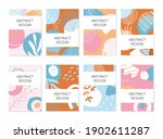 set of abstract backgrounds....   Shutterstock .eps vector #1902611287
