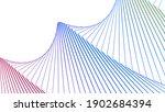 wave stripes rhythm pattern...   Shutterstock .eps vector #1902684394