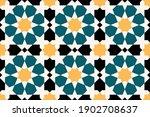 geometric islamic seamless... | Shutterstock .eps vector #1902708637