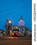 Nottingham Uk City Centre...