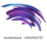 vector brush stroke. proton... | Shutterstock .eps vector #1902903757