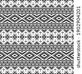 aztec seamless ethnic pattern...   Shutterstock .eps vector #1902904201