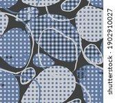checkered garment modern and... | Shutterstock .eps vector #1902910027