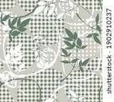 checkered garment modern and... | Shutterstock .eps vector #1902910237