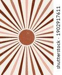 abstract sun print boho...   Shutterstock .eps vector #1902917611