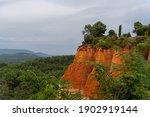 colored ocher hill in regional... | Shutterstock . vector #1902919144