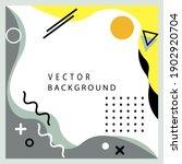 modern abstract card template... | Shutterstock .eps vector #1902920704