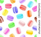 seamless pattern of colorful... | Shutterstock .eps vector #1902964141