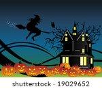 abstract halloween series design | Shutterstock .eps vector #19029652