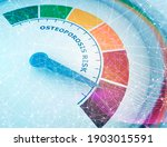 color scale with arrow from... | Shutterstock . vector #1903015591