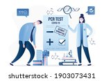 people in protective masks....   Shutterstock .eps vector #1903073431